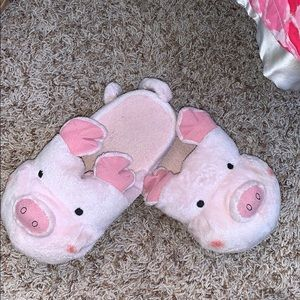 Shoes - Piggy Bedroom Slippers